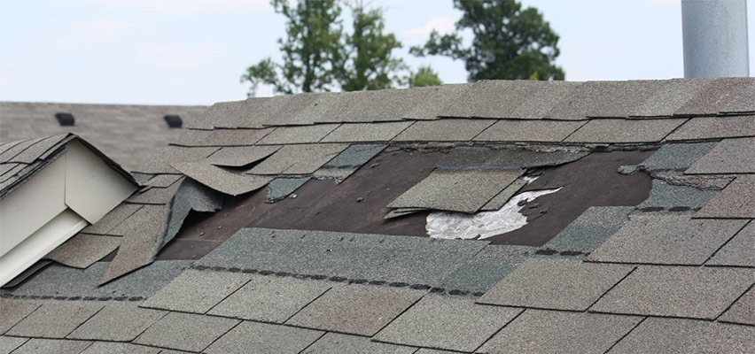 damaged roof causes